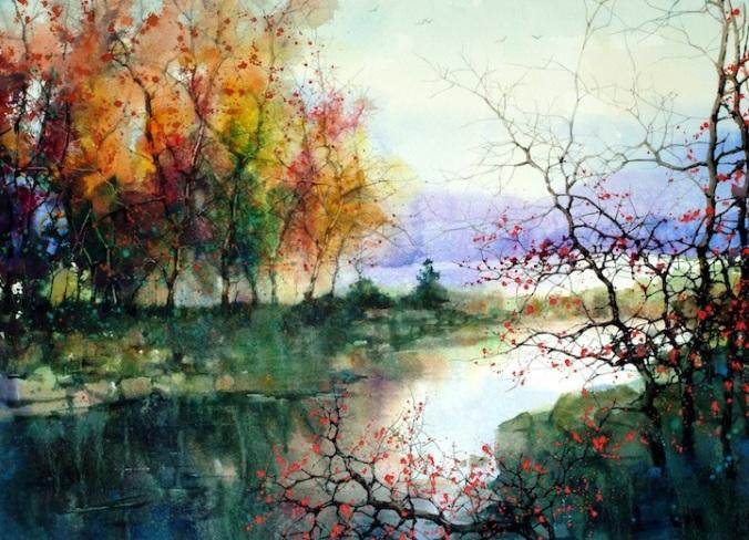 watercolor jlkj
